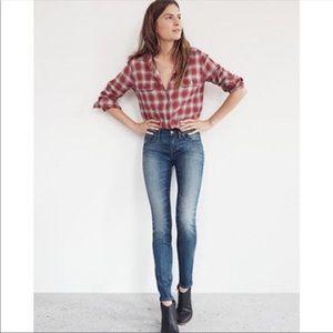Madewell Skinny Skinny Edmonton Wash Jeans 29